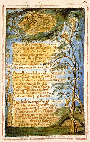 Songs of Innocence, 1789.